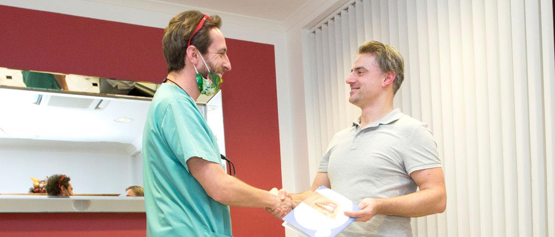 Vollnarkose und Sedierung beim Zahnarzt in Bielefeld